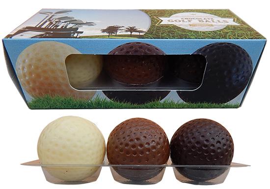 Schokolade Golfbälle